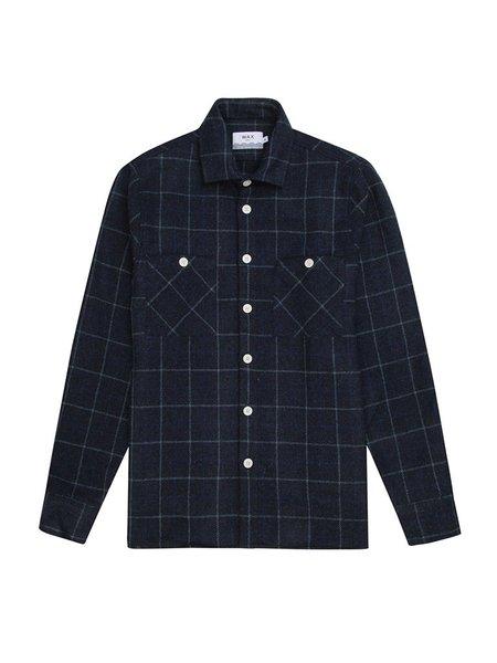 Wax London Whiting Overshirt - Shetland Check
