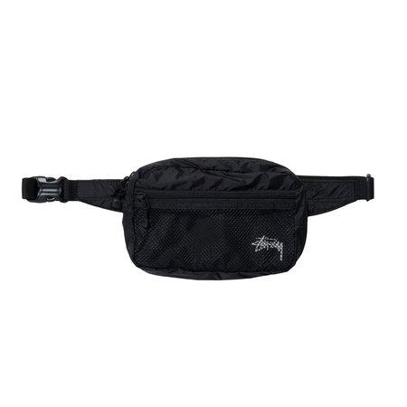 Stussy Lightweight Waist Bag - Black