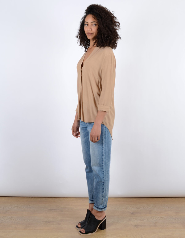 Just Female Trine Shirt Sand