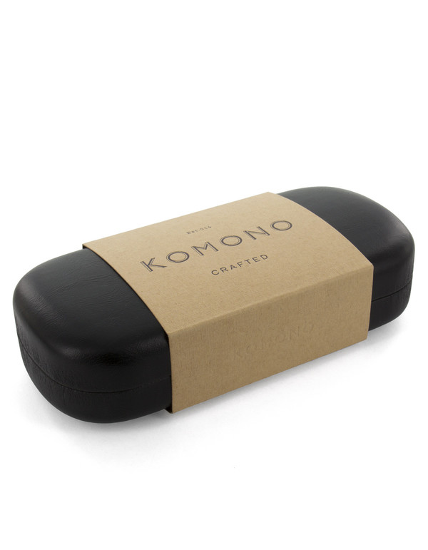 Komono Crafted Renee Italian Acetate Black
