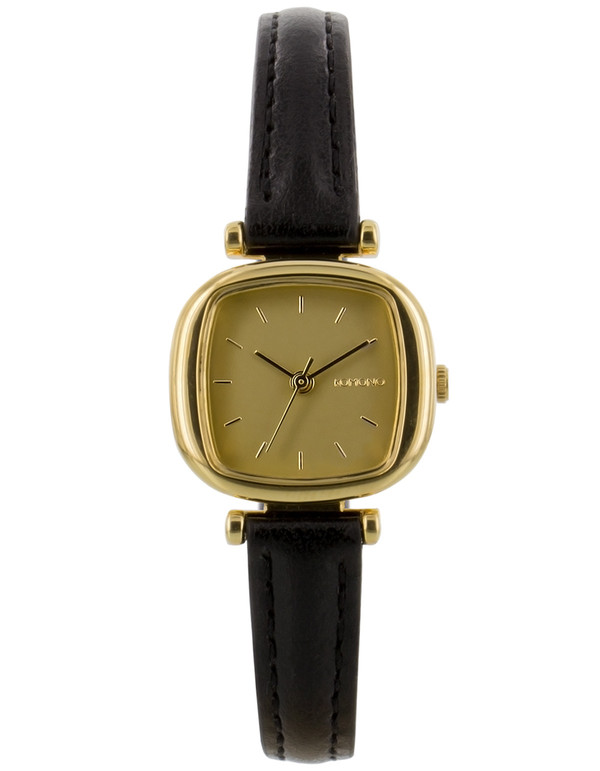 Komono Money Penny Watch Gold Black