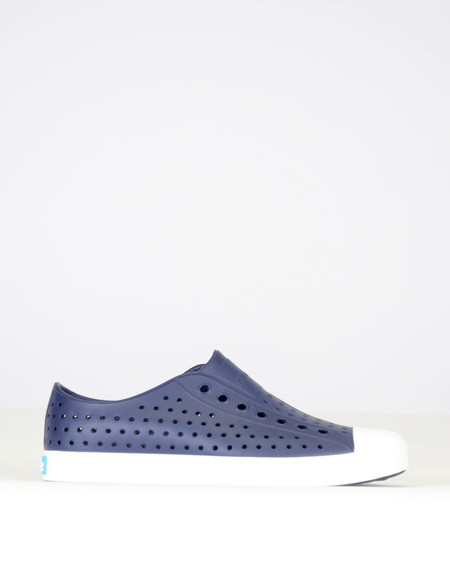 Native Shoes Native Jefferson Regatta Blue with Shell White