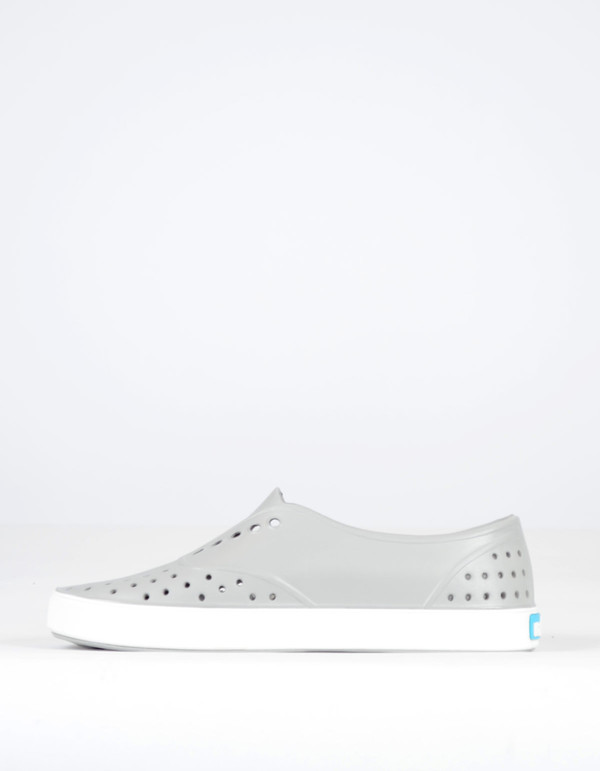 Native Shoes Native Miller Pigeon Grey with Shell White