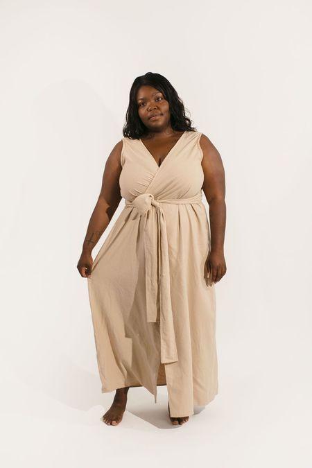 Two Fold Clothing Kayo Raw Silk Dress - Black