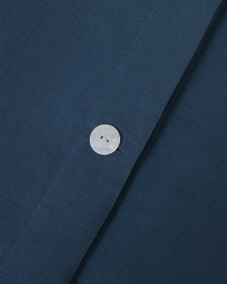 Shop Sunday Morning Marcel Linen Duvet Cover - Adriatic
