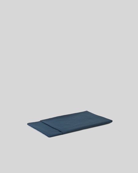 Shop Sunday Morning Marcel Linen Flat Sheet - Adriatic