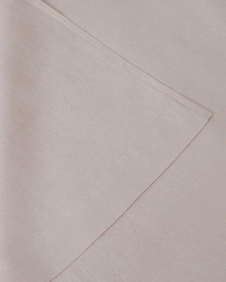 Shop Sunday Morning Marcel Linen Flat Sheet - Blush