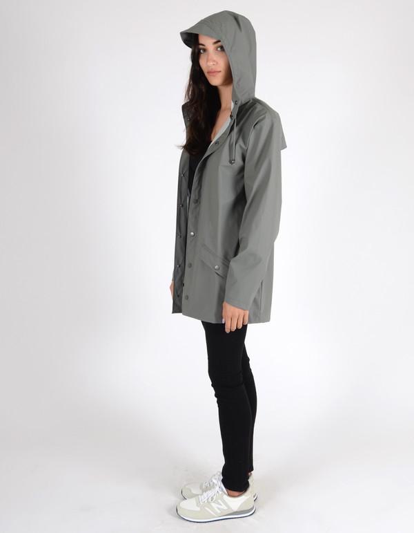 Rains Jacket Women's Grey