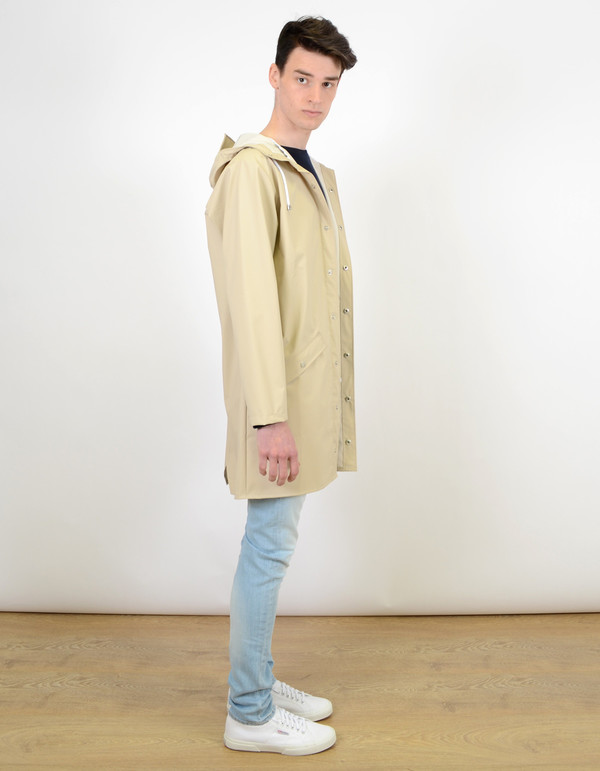 Men's Rains Long Jacket Sand