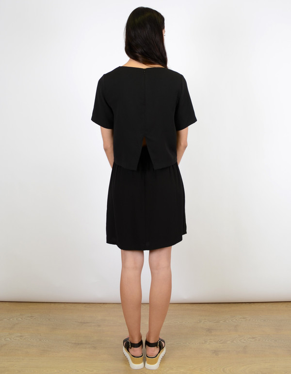 Selected Femme Semva Dress Black