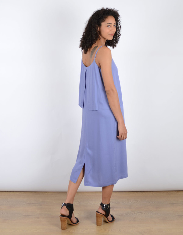 Storm & Marie Lucca Long Dress Lavender Violet