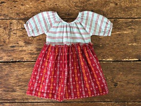 Kids Lali Mallory Jacquard Dress - Striped