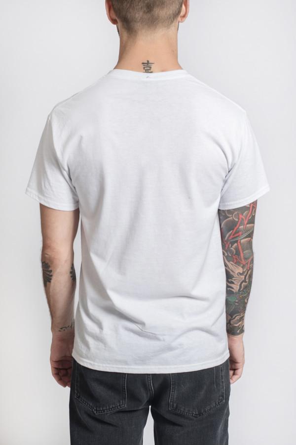 Men's Bleached Goods Rafits White