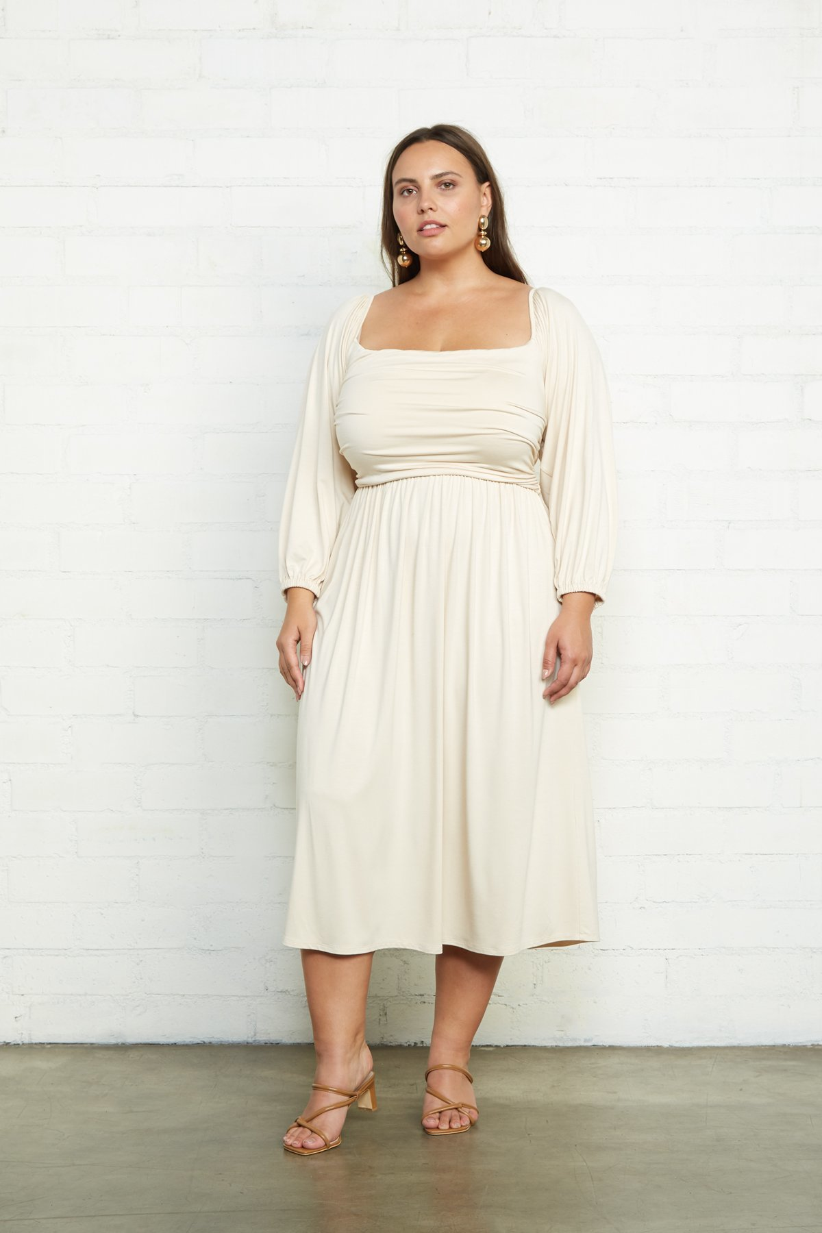 Rachel Pally Dory Plus Size Dress - Cream