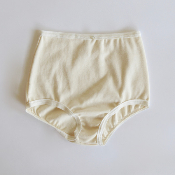Botanica Workshop Astra Hi-Waist Brief in Natural