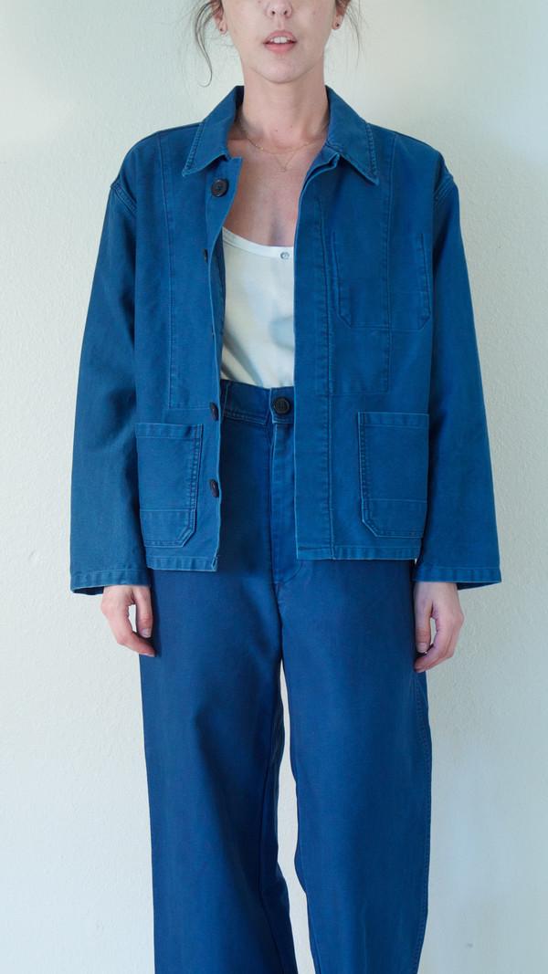 Caron Callahan Krasner Jacket in Indigo Twill