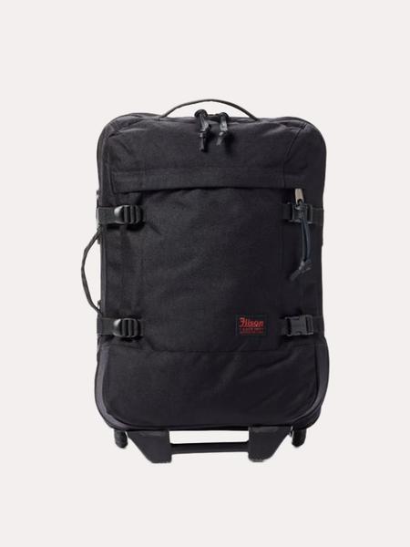 Filson Ballistic Nylon Dryden Rolling 2-Wheel Carry-On Bag - Dark Navy