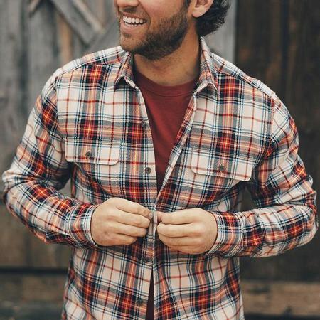The Normal Brand Jimbo Double Pocket Flannel Overshirt