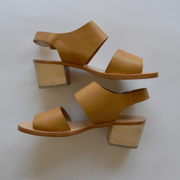 Rachel Comey Tulip Sandal in Polished Wheat