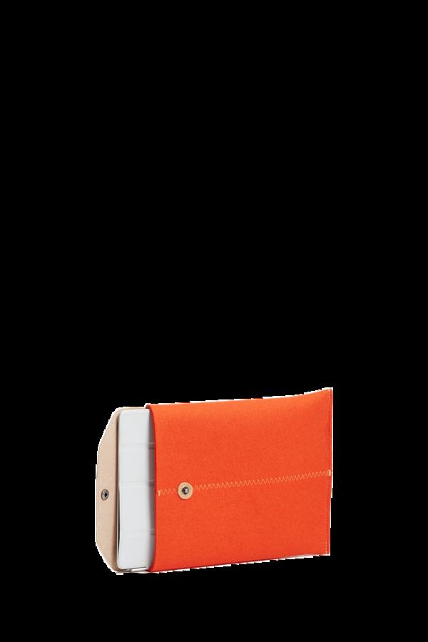 iPad sleeve orange