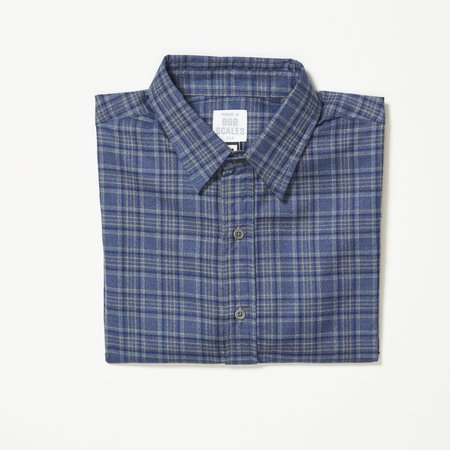 Product of Bob Scales LONG SLEEVE DAILY DRIVER - BLUE PLAID