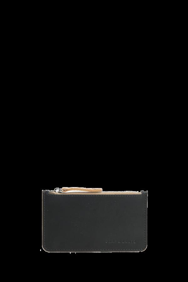 Graf & Lantz pouch petite leather black