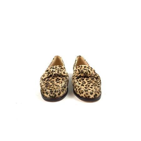 Loeffler Randall Elina loafers - leopard