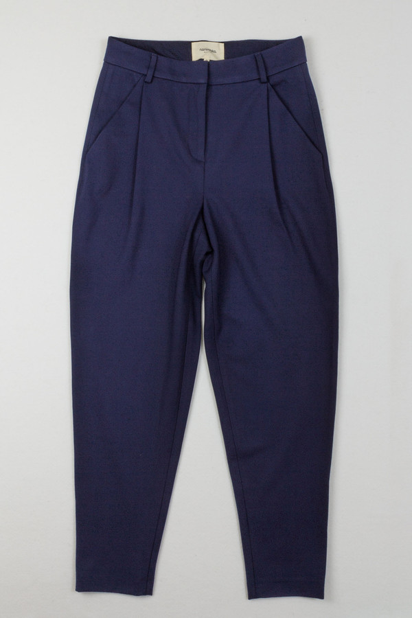 Nanushka - Horus Stretch Jersey Pleated Pants