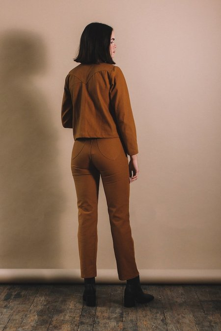 Lykke Wullf Perfected Ranch Pants - Honey Camel