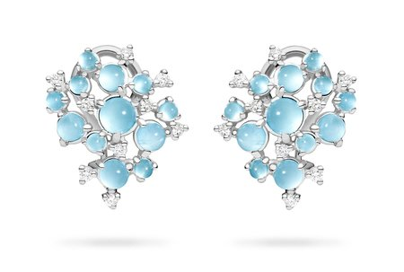 Paul Morelli Bubble Cluster Clip Earrings