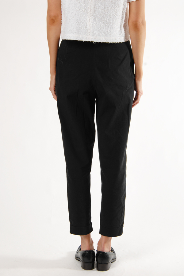 Black Sismi Trouser by Samuji