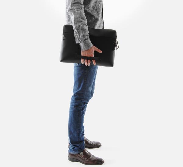 Bonastre Black Document Holder Packet