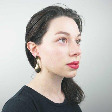 Seaworthy Bifur Earrings - Brass