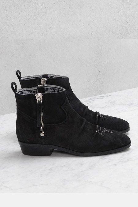 Golden Goose Viand Boots - Black