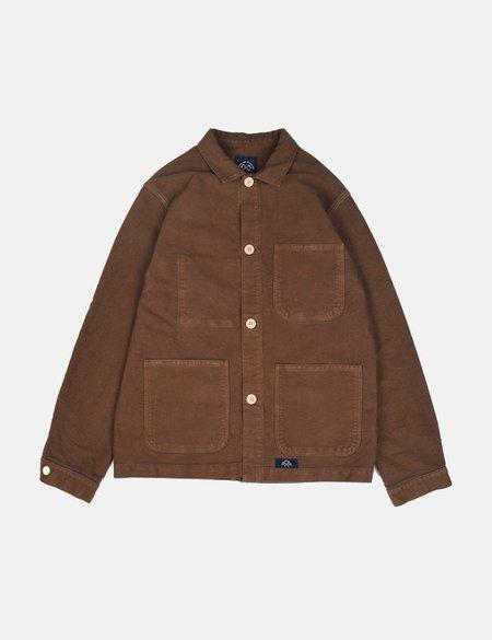 Bleu De Paname Veste De Comptoir Jacket - Chestnut Brown