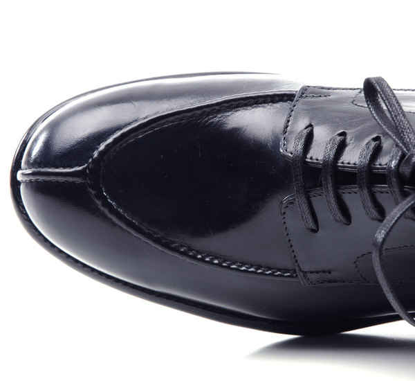 Le Yucca's Navy Karena Shoe by Le Yucca's