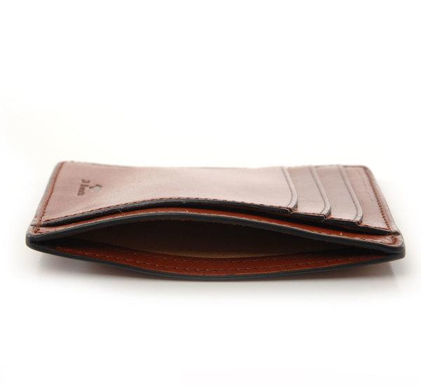 Il Bussetto Cappucino Card Case Wallet