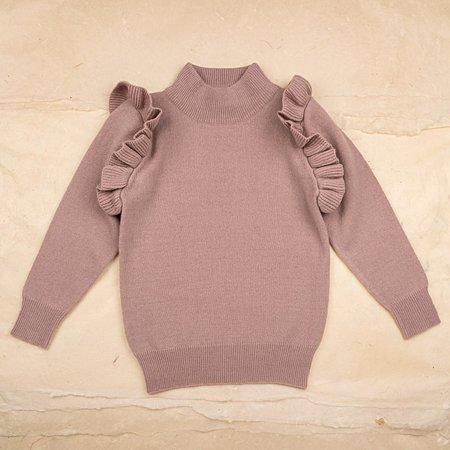 Kids Ketiketa Zoé Sweater - Rosewood