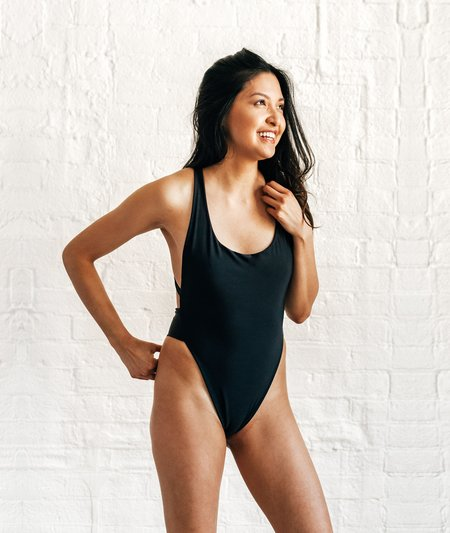 The Saltwater Collective Christina One Piece - Black