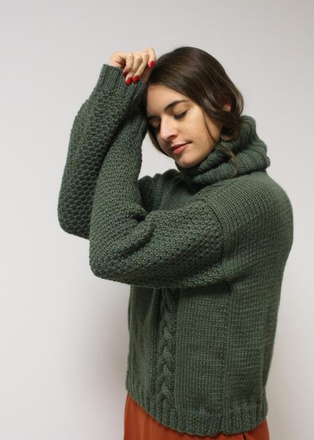 SIZ Sarakatsani Sweater - Green