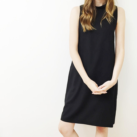 Laurs Kemp Anja Mockneck Dress - Black