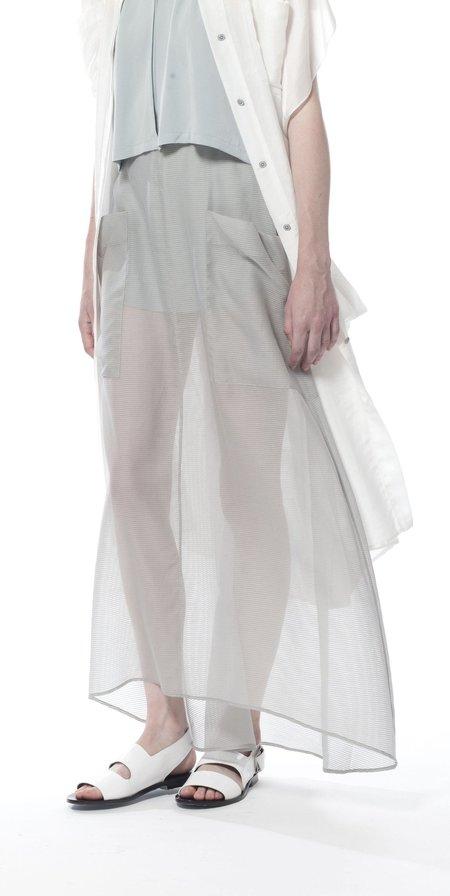 SCHAI Globe Maxi Skirt - Cloud Sheer