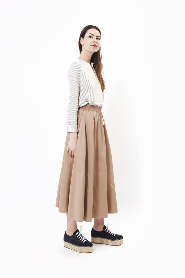 Mr. Larkin Lauren Skirt in Suntan