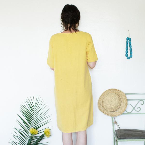 Me & Arrow Tall Dress - Sunflower