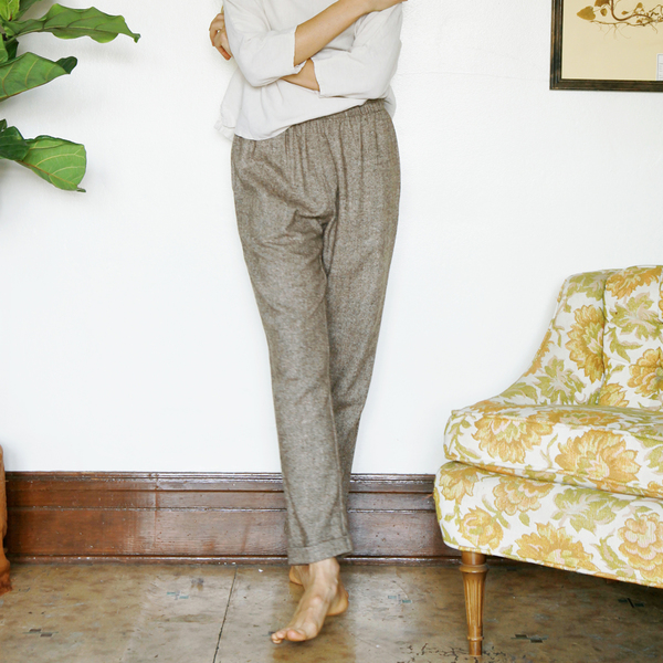 Unknown Cuff Pants<br> Tweed Pants