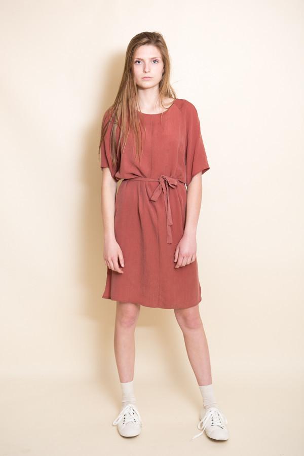 Just Female Orion Dress / Marsala Red