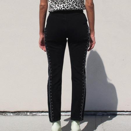 Sandy Liang Dazzler Jeans in Black