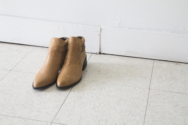 Unknown MAST boot in TAN waxed leather