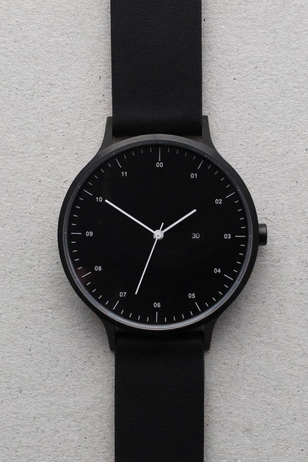 Men's INSTRMNT Series 01-D BB/B Watch - Black/Black