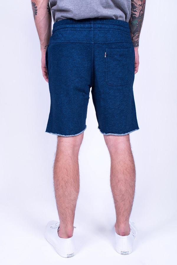 Men's Maison Kitsune Jog Short Indigo